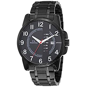 Maxima Analog Black Dial Men's Watch-O-57010CAGB