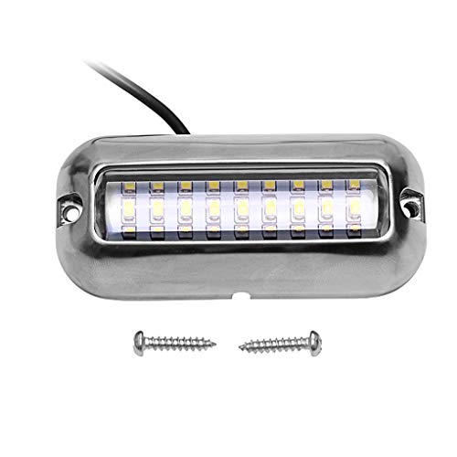 Boat Parts & Accessories 50w 27led Red/blue/green Boat Light Underwater Pontoon Marine Transom Light Ip68 Waterproof Stainless Steel Anchor Stern Lamp Products Are Sold Without Limitations Atv,rv,boat & Other Vehicle