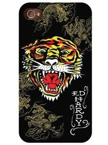 - Ed Hardy iPhone 4 SnapOn - Tiger and Dragons