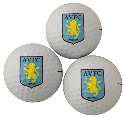 Aston Villa Golf Ball Gift Pack (Supplies Party Ville)