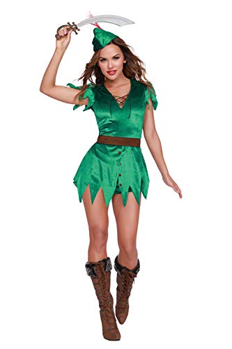 Dreamgirl Women's Mischief in Neverland, Costume, Medium