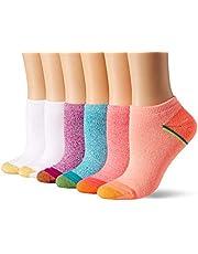 Gold Toe Women's Sport Cushion No Show Sock, 6 Pairs
