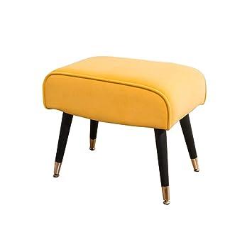 Amazon.com: YUWJ Taburete de franela para muebles, cómodo ...