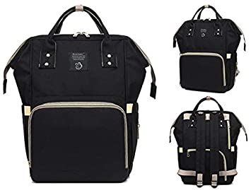 d72f3712cd14 Image Unavailable. Image not available for. Colour  Foolzy Diaper Bag Backpack  Multi-Function Waterproof ...