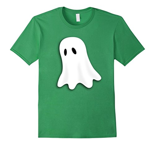 Mens Friendly Ghost Halloween Costume T-shirt Small Grass