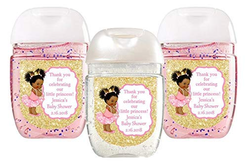 Princess Baby Shower Favor Label