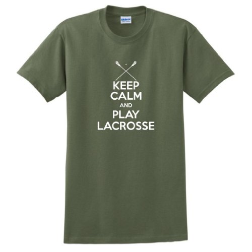 Keep Calm Play Lacrosse T Shirt