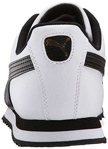 Puma Herren Roma Basic-Schuhe, EUR: 43, White-Black