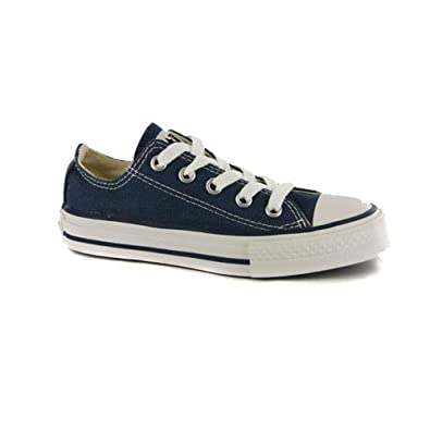 eacbbb2122b0 Kids Converse All Star Chuck Taylor Navy Low Trainers UK 1.5 JNR   EUR  33.5  Amazon.co.uk  Shoes   Bags