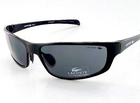 95528f01214 New Lacoste La12411 La 12411 Bk Sunglasses 61-16-125 Grey Shades Black  Frame  Amazon.co.uk  Clothing