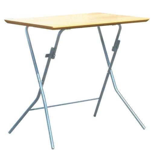 ルネセイコウ スタンドタッチテーブル ナチュラル/シルバー SB-755TA B001UHNJ1E