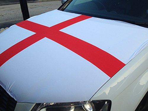 England Car Bonnet Flag: