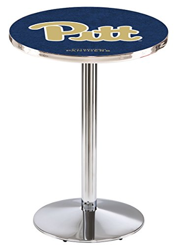Holland Bar Stool L214C University Pittsburgh Officially Licensed Pub Table, 28