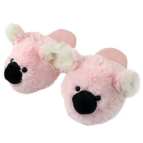 Slippers Indoor Foam Home Animal Cozy House Women Memory Pink Outdoor Koala Slipper Komyufa SqAzIE