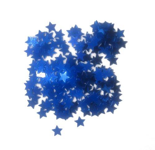 WGI Star Confetti 14 grams - Blue (6 packs)