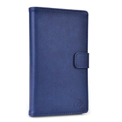 Navy Blue NuVur Unisex Universal Smartphone Case fits LG Prada - Blue Pradas Navy