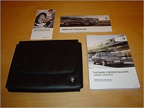 Bmw 3 Series F30 Owners Handbook 2010 2013 Saloon 316i 320i