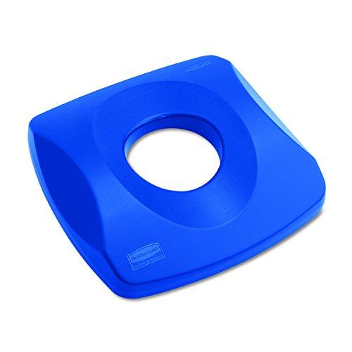 Rubbermaid Commercial Products Untouchable Recycling Bottle Lid, Blue (FG269100BLUE)