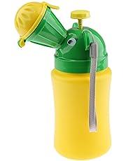 Baosity Babies Boy Portable Potty Urinal Training for Camping Car Travel Emergency Pee
