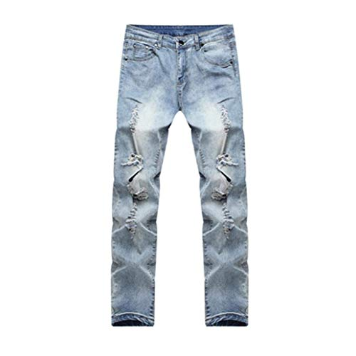 Fit Skinny Jeans Ragazzo Pants Black Con Chern Blua Stretch Destroyed Uomo Denim Pantaloni Jogging Slim Rt Da Summer Fori qxtrngftp