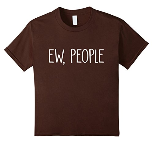 Kids Ew People Shirt 4 Brown (4 Person Costume Ideas)