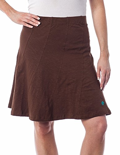 Alki'i Bella Skirt with multi panel scallop seam and Elastic Waistband