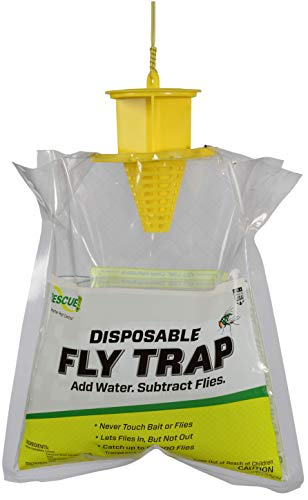 RESCUE Outdoor Non-Toxic Disposable Fly Trap