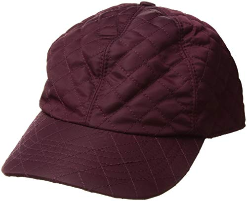 Betmar Women's Quilted RAIN Cap, Plum, -