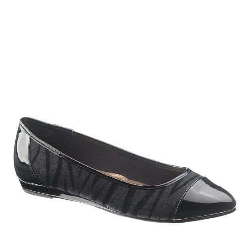 Morbido Stile Donna Danyel Slip On Comfort Moda Appartamenti Zebra