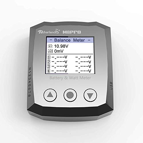Wikiwand M8Pro-8S Electricity and Power Tester Battery Power Meter Electro-Display by Wikiwand (Image #5)