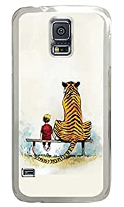 The Young And The Tiger PC Transparent Hard Case Cover Skin For Samsung Galaxy S5 I9600