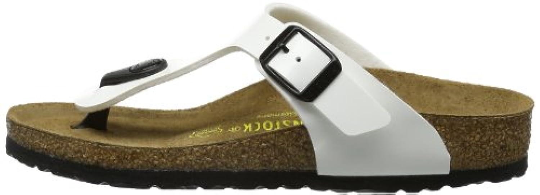 Birkenstock Gizeh, Unisex-Child Sandals, White,1 UK ( 33 EU  )