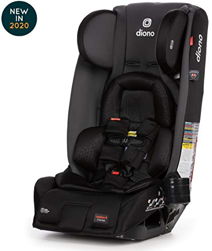 Diono Radian 3RXT Latch All-in-One Convertible Car Seat, Gray Slate