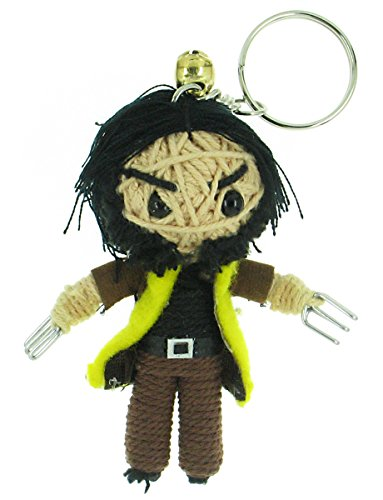 Mystique X Costume Men (The Wolverine Voodoo String Doll Keyring)