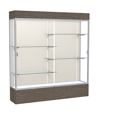 Waddell Reliant Lighted Vinyl Floor Display case 72