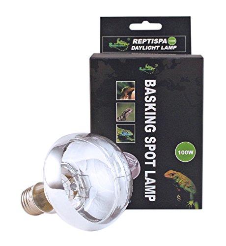 Reptispa Basking Spot Lamp 100 Watts- Daylight UVA
