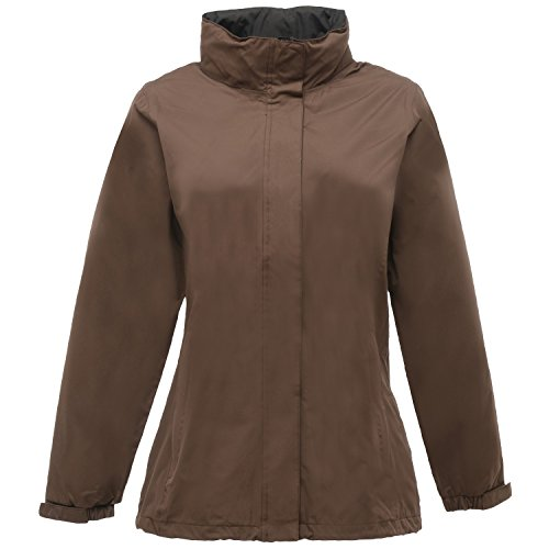Regatta Womens/Ladies Ardmore Waterproof Mesh Lined Shell Jacket Otter