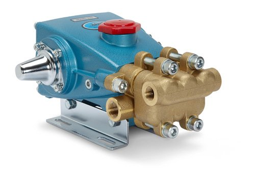 Cat Pumps 270-270 - 3-Frame Plunger Pump - 3.5 gpm, 1500 psi, 1420 rpm, Belt-Drive, Brass