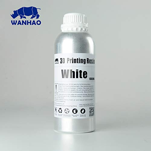 Wanhao 3D-Printer UV Resin - 1000 ml - White 22342