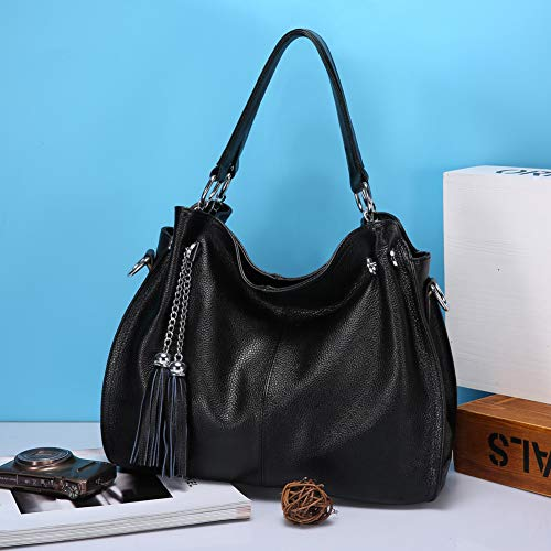 en femmes un cuir noir style Gloozd décontracté avec Nappa Le fourni est à véritable bandoulière Bags cuir orange sac en pour R6zOT6nXwq