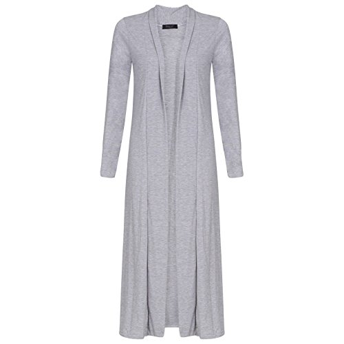 Manica lunga donna Cardi lunghezza Boyfriend Cardigan Maxi Plus Size UK 8