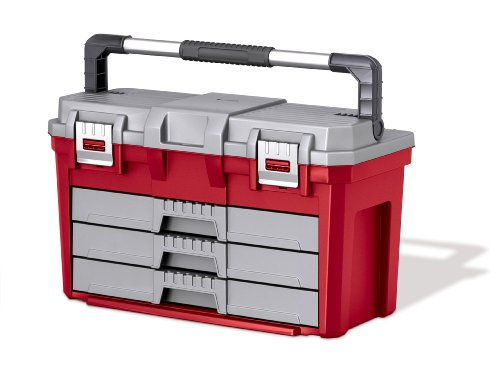 Keter 17186722 3 Drawer Tool Box Import It All