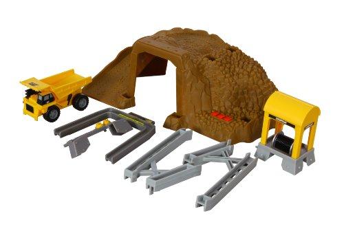 Toy State Caterpillar Construction: Mining - Cat Playset Builder Bridge