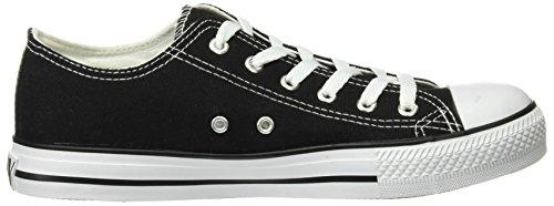 Beppi Herren Canvas 2149111 Sneaker Black (Schwarz)