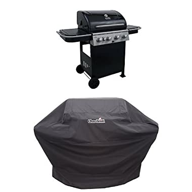 Char-Broil 520 4-Burner Cart Gas Grill + Cover