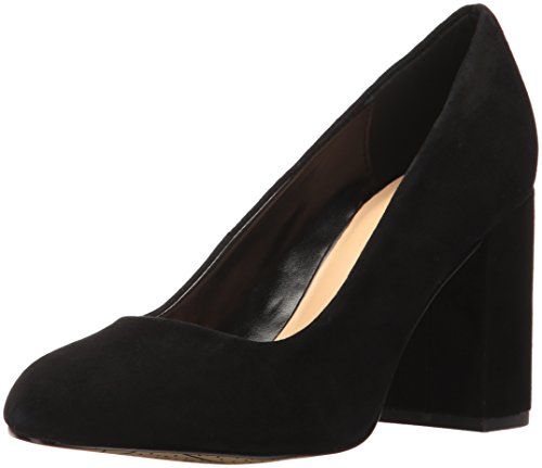 Bella Vita Women's Nara Dress Pump, Black Kid Suede, 7.5 W US