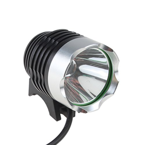 AGPtek 800LM CREE XML T6 LED Bike Bicycle Light HeadLight HeadLamp With Rechargeable Battery Pack and Charger for Riding, Camping,Outdoor and Other Activites