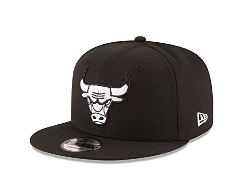 NBA Chicago Bulls Men's 9Fifty Snapback Cap, One Size, Black