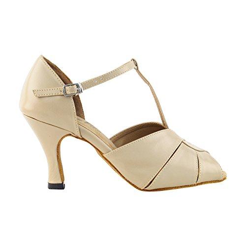 """50 Shades Of Tan Dance Kleid Schuhe Collection-II, Komfort Abendkleid Hochzeit Pumps: Ballroom Schuhe für Latin, Tango, Salsa, Swing, Kunst von Party Party (2,5 """", 3"""" & 3,5 """"Heels) 6006 Tan Leder"""