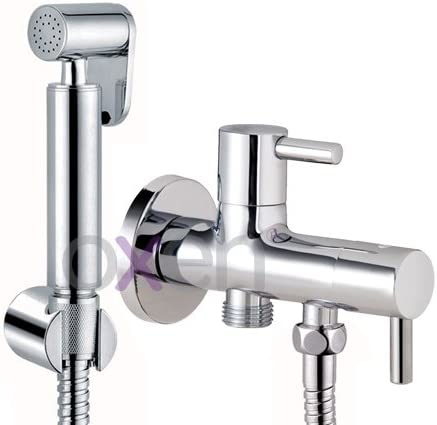 Kibath 414151 higiene íntima con instalación sin Obra sustituto del Bidet. Grifo para WC. Sólo Agua fría, Cromo Brillo: Amazon.es: Bricolaje y herramientas
